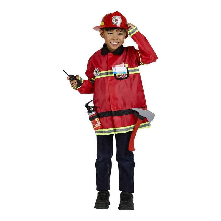 Spartys Fire Fighter Kids Costume