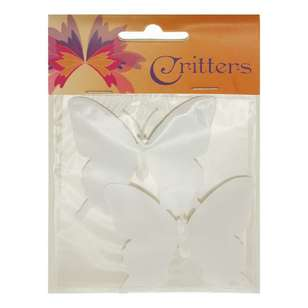 Ribtex Critters DIY Craft Plastic Butterfly 2 Pack