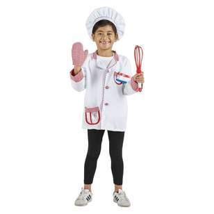 Spartys Chef Kids Costume