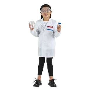 Spartys Scientist Kids Costume