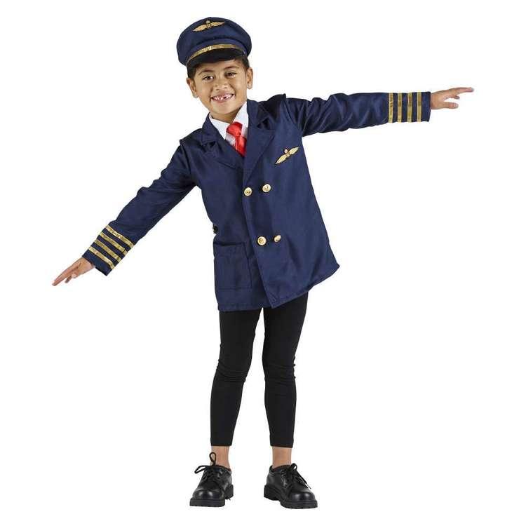 Spartys Pilot Kids Costume