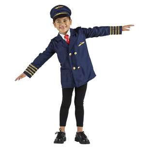 Spartys Pilot Kids Costume