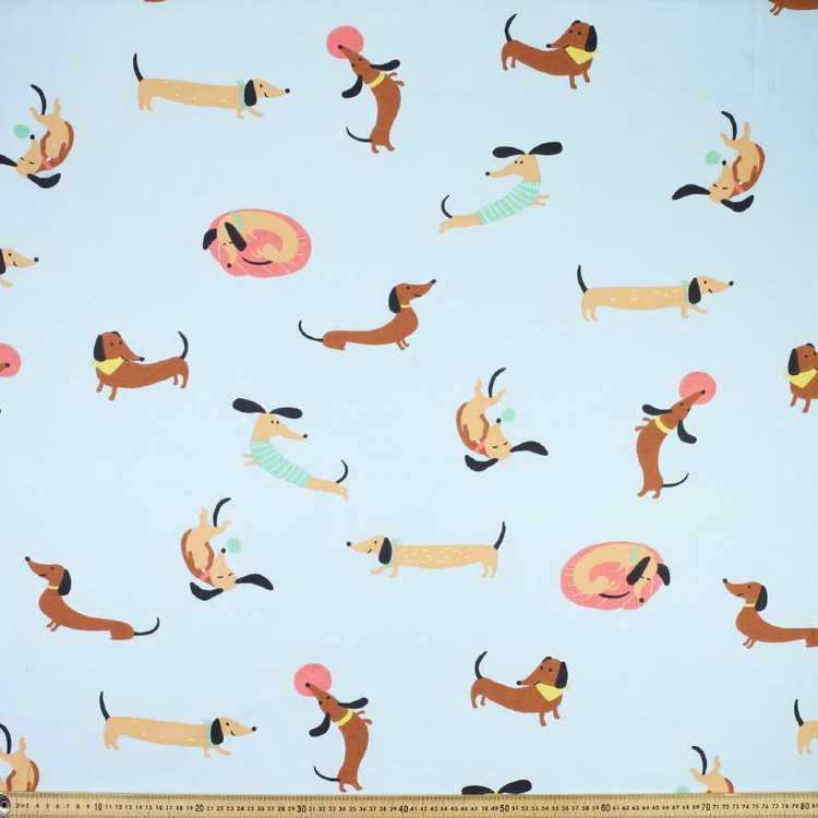 Sausage Dog Cotton Fabric