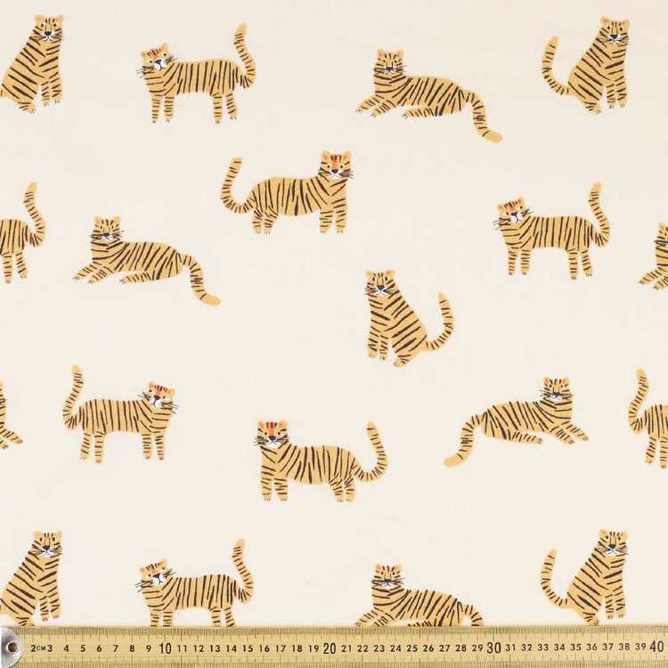 Tiger King Cotton Fabric