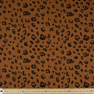 Cheeta Printed Cotton Sateen Fabric