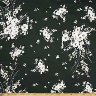 Flora Printed Cotton Sateen Fabric