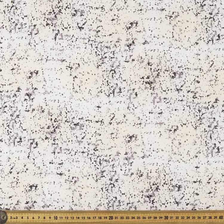 148 cm Spot Printed Burnout Chiffon Fabric