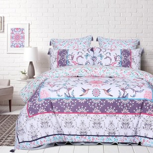 Belmondo Lotus Quilt Cover Set