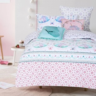 Kids House Magical Unicorn Quilt Cover Set