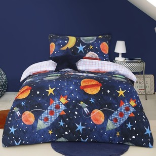 Kids House Major Tom Quilt Cover Set