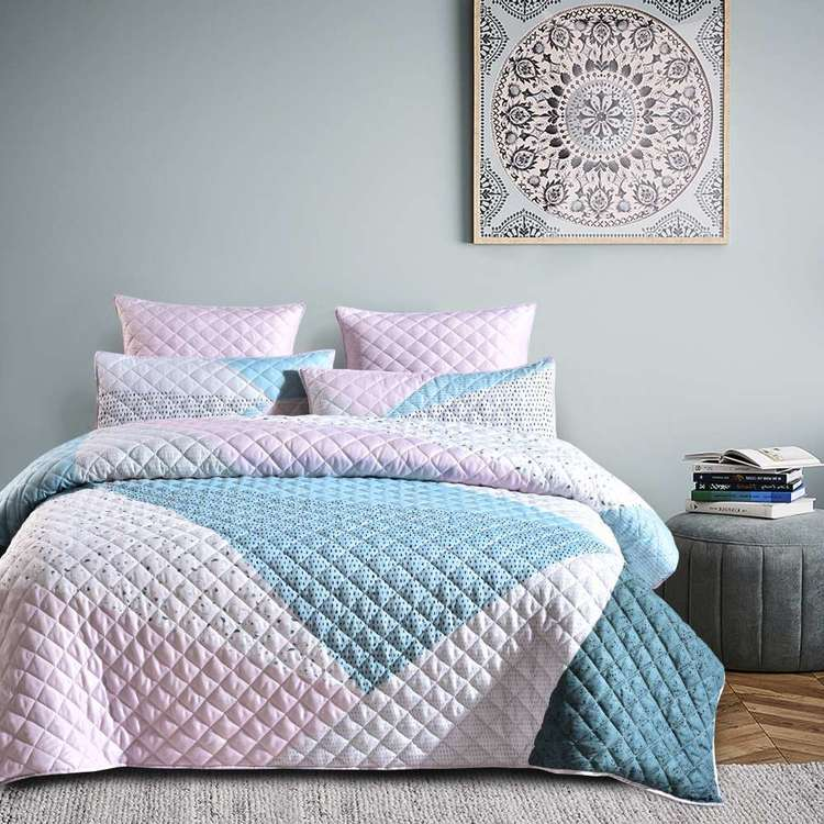 KOO Terrazzo Diamond Quilt Cover Set
