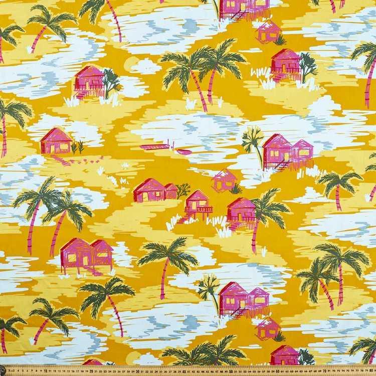 Ellie Whittaker Shacks Printed Fabric