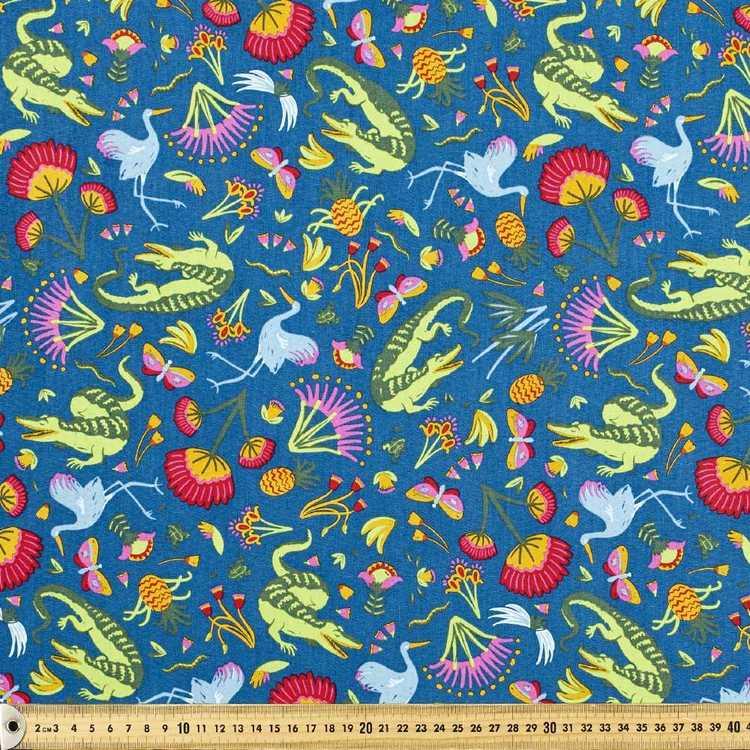 Ellie Whittaker Crocodalia Printed Fabric