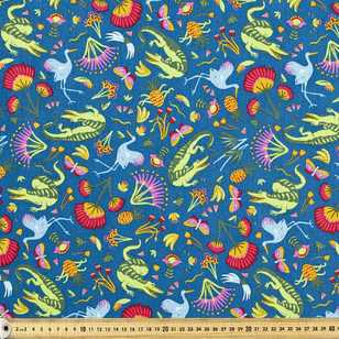 Ellie Whittaker Crocodalia Printed Fabric