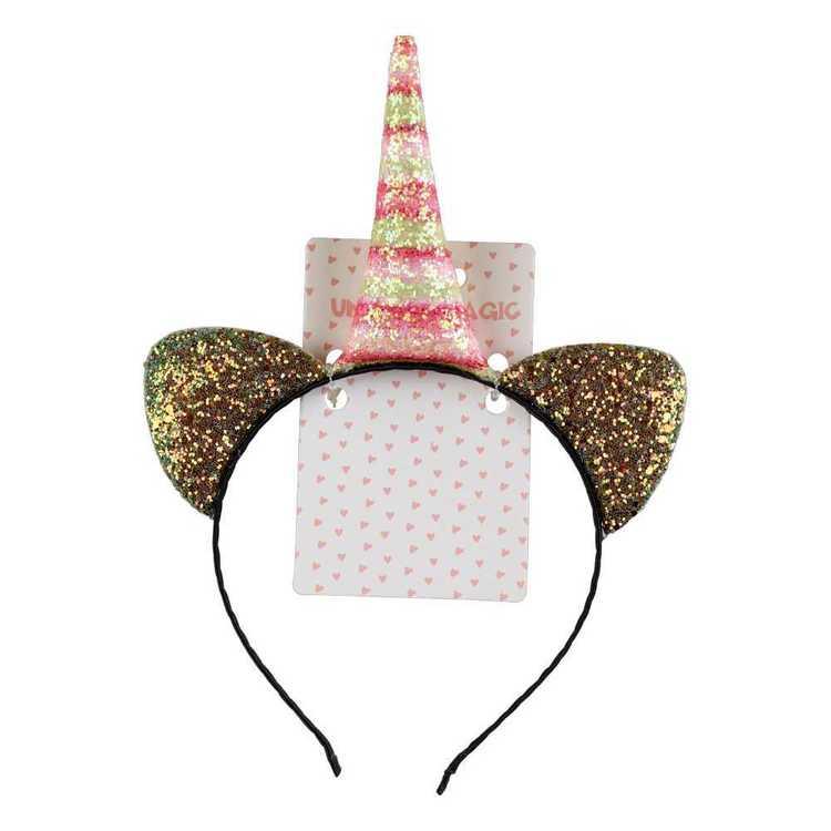Unicorn Magic Cat Ear & Horn Headband