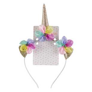 Unicorn Magic Floral Unicorn Headband