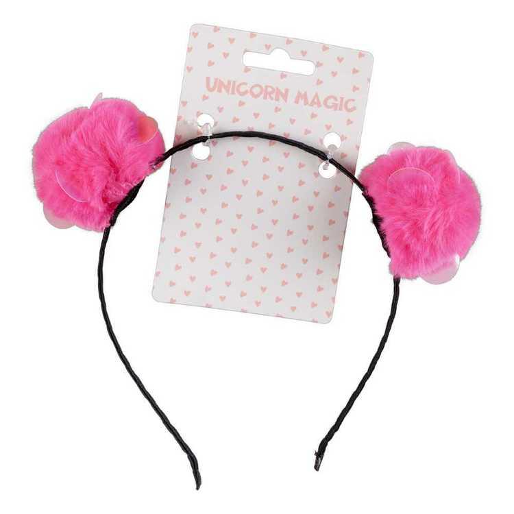 Unicorn Magic Fom Fom Headband