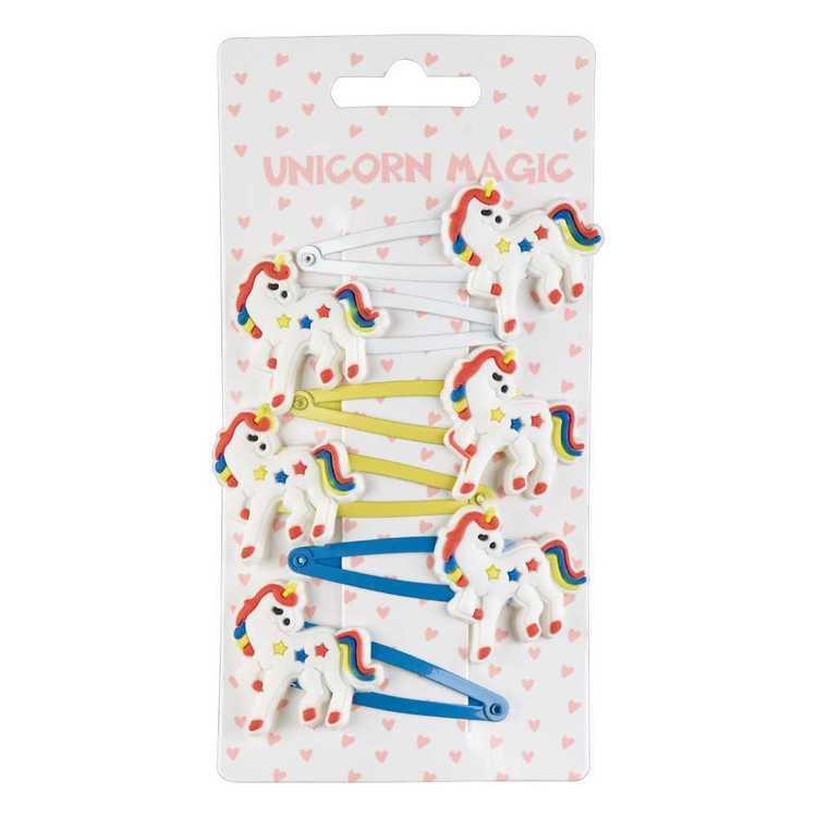 Unicorn Magic Unicorn Snap Clip 6 Pack