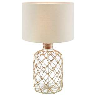 Bouclair Coastal Charm Rope Table Lamp