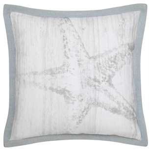 Bouclair Coastal Charm Atola Printed Cushion