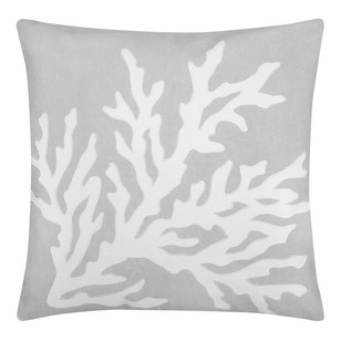 Bouclair Coastal Charm Loana Printed Cushion