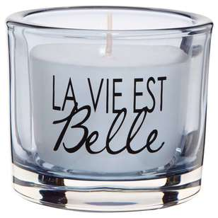 Bouclair Coastal Charm Candle With Typo