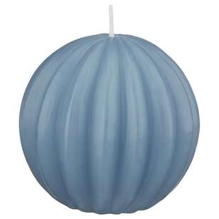 Bouclair Coastal Charm Carved Ball Candle