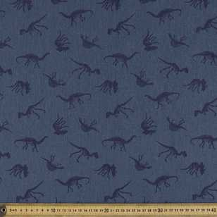 148 cm Fossilised #3 Printed Montreaux Drill Fabric