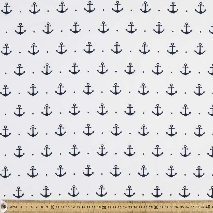 Anchors Away Printed Poplin Fabric