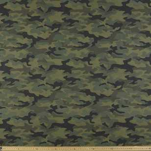 148 cm Camouflage Printed Montreaux Drill Fabric