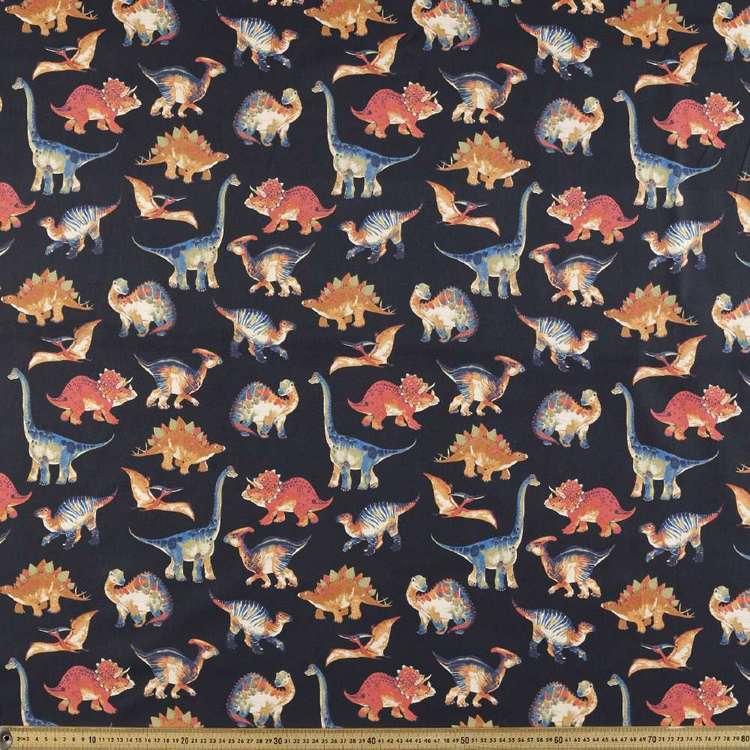 Dinomite #2 Printed Montreaux Drill Fabric