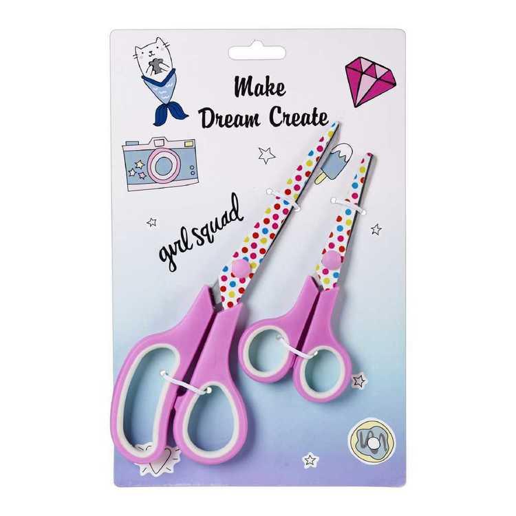 Make Dream Create Scissors 2 Pack