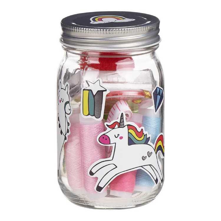 Make Dream Create 35 Piece Sewing Kit Jar