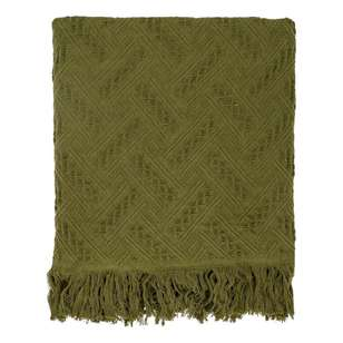 Ombre Home Animal Instinct Textured Throw