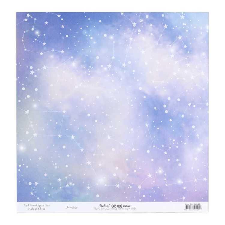 Bella Cosmos Universe Cardstock Paper