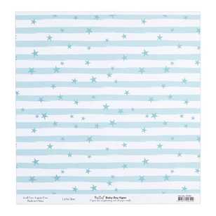 Bella Baby Boy Little Star Cardstock Paper