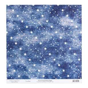 Bella Australiana True Blue Cardstock Paper
