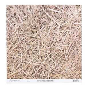 Bella French Country Straw Cardstock Paper