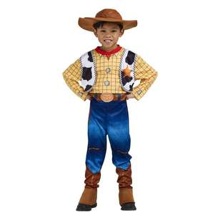 Disney Woody Deluxe Costume 3-5 Years