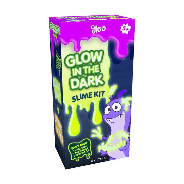 Gloo Glow In The Dark Slime Kit