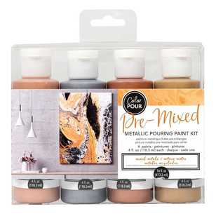 American Crafts Colour Pour Pouring Paint Kit