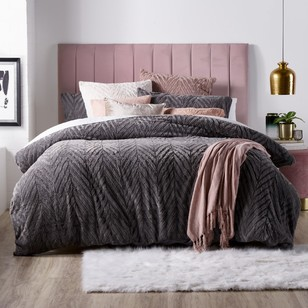 KOO Luxe Teddy Quilt Cover Set