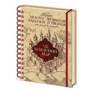 Impact Harry Potter Mauraders Map Wiro A5 Notebook