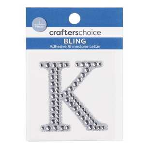 Crafters Choice Rhinestone Crystal K