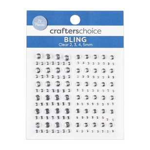 Crafters Choice Hue Rhinestones 72 Pack
