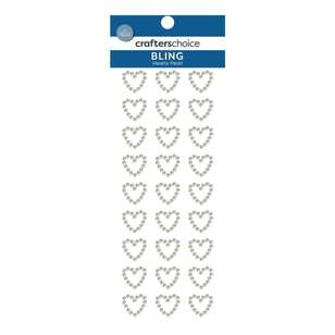 Crafters Choice Rhinestone Hearts