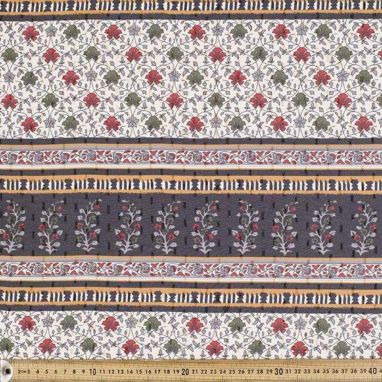 #4 Printed Chiffon Lurex Fabric