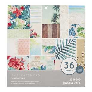 Kaisercraft Paradise Found Paper Pad