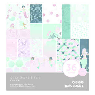 Kaisercraft Mermaid Paper Pad