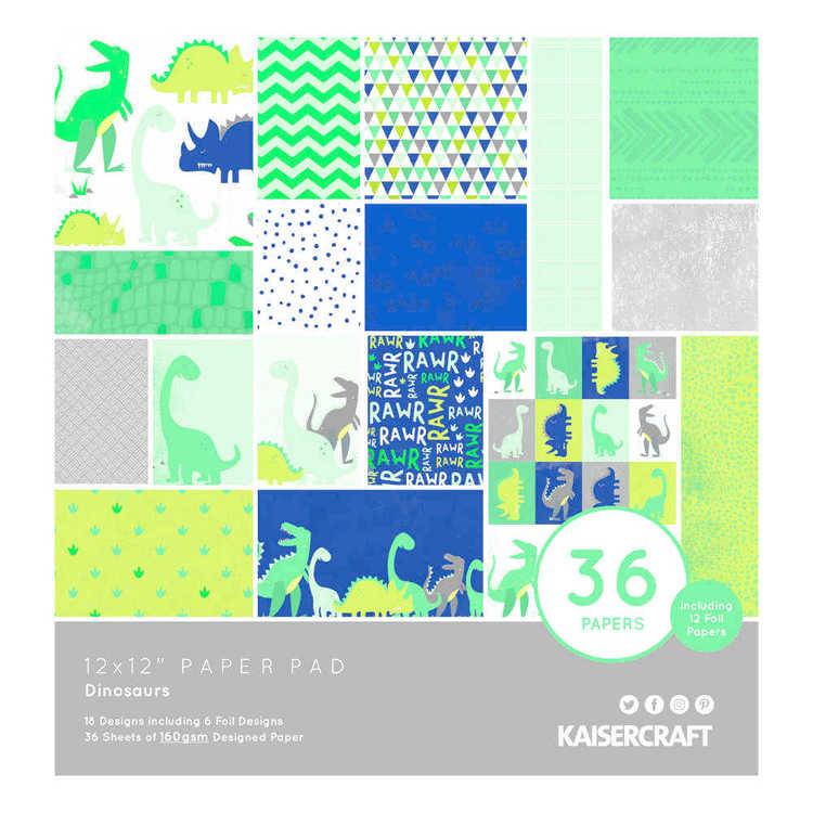 Kaisercraft Dinosaurs Paper Pad